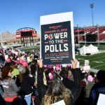 Women's March in Las Vegas seeks to mobilize female voters ahead of 2018 midterms