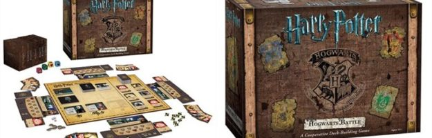 Review of the 'Harry Potter: Hogwarts Battle' cooperative deck-building game